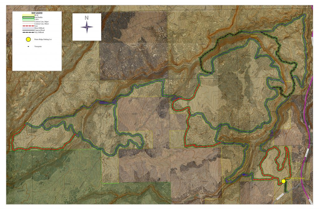 Mountain Bike Trail Master Plan, Bureau of Land Management